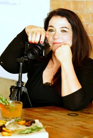 marye audet-white behind the camera